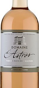 Astros - Vin de Pays Mediterranee Rose 2018 75cl Bottle