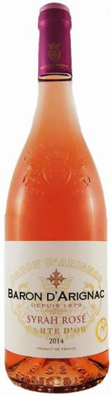Baron d'Arignac - Syrah Rose 75cl Bottle