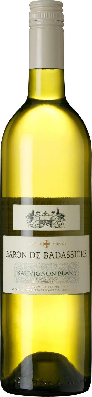 Baron de Badassiere - Sauvignon Blanc IGP Pays d'Oc 2018 75cl Bottle