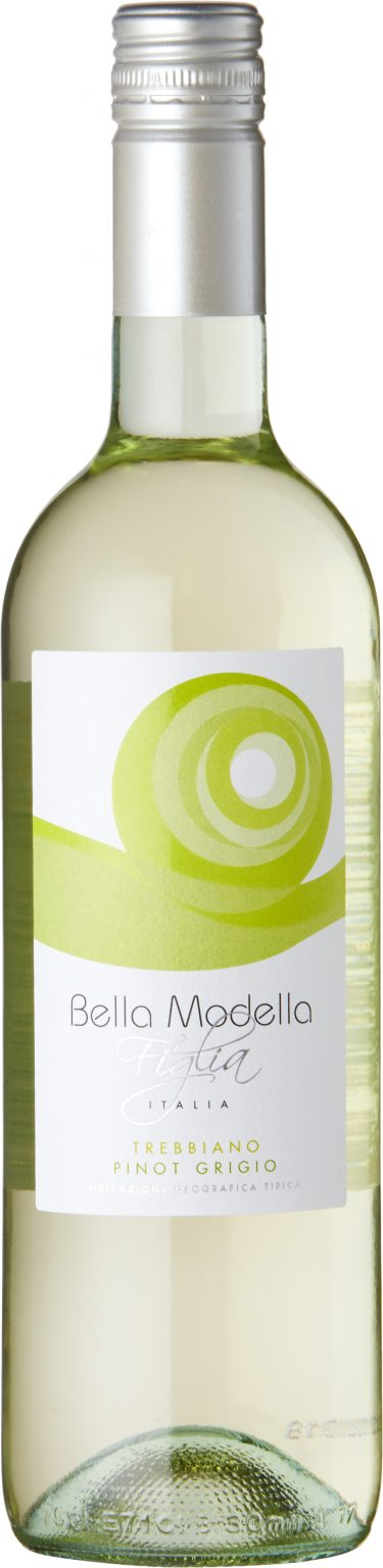 Bella Modella - Figlia Trebbiano Pinot Grigio IGP Puglia 2019 75cl Bottle