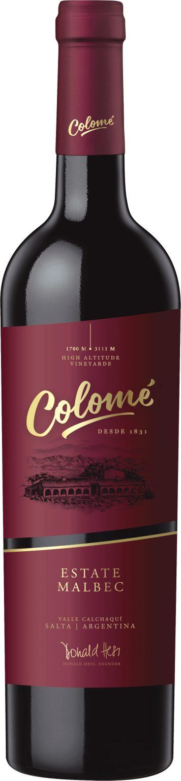 Bodega Colome - Estate Salta Malbec 2017 75cl Bottle