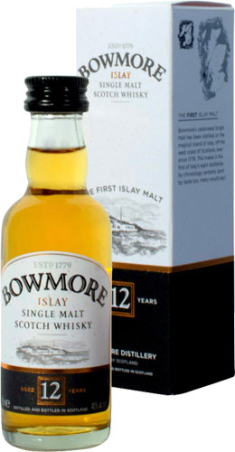 Bowmore - 12 Year Old Miniature 5cl Miniature