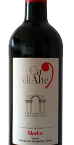 Ca di Alte - Merlot 2018 75cl Bottle
