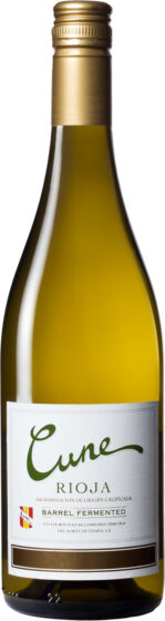 Cune - Barrel Fermented Blanco 2018 75cl Bottle