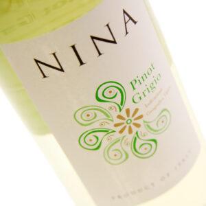 Nina - Pinot Grigio 2018 75cl Bottle