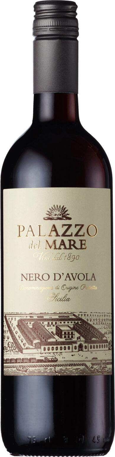 Palazzo del Mare - Nero d'Avola IGT Sicily 2019 75cl Bottle