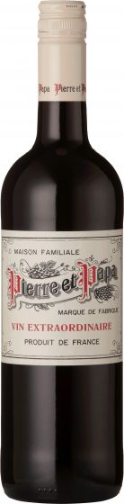 Pierre et Papa - Red IGP Pays d'Herault 2018 75cl Bottle