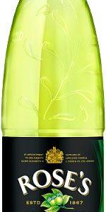 Roses Lime Cordial 1 Litre Plastic Bottles