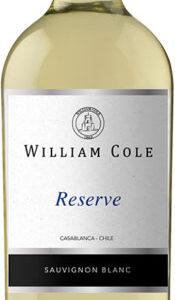 William Cole - Reserve Sauvignon Blanc 2017 75cl Bottle