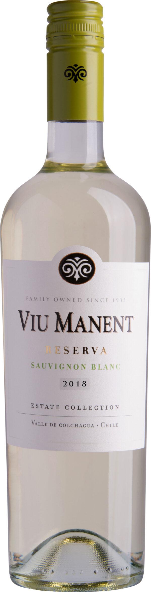 Viu Manent - Estate Collection Reserva Sauvignon Blanc 2019 75cl Bottle