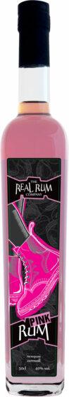 Bootleg - Pink Spiced Rum 50cl Bottle