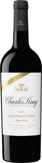 Charles Krug - Family Reserve Generations 2017 75cl Bottle