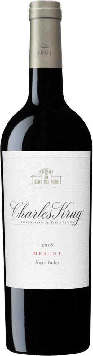 Charles Krug - Merlot 2018 75cl Bottle